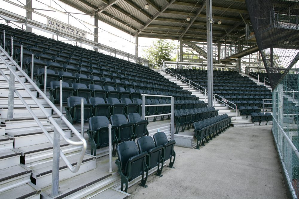 R M Huffman Gym Bleachers Gymnasium Seating Team Seating